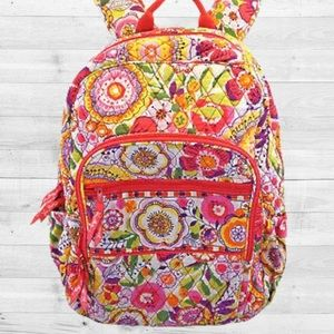 Vera Bradley Pack Multicolor Backpack